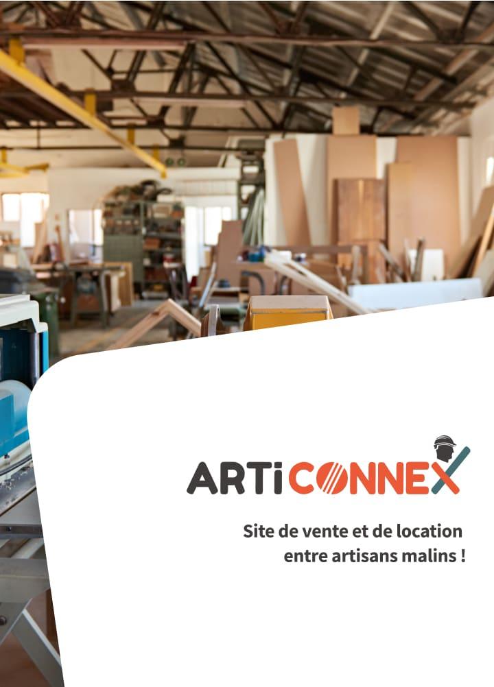 Marketplace Articonnex - Vente et location entre artisans