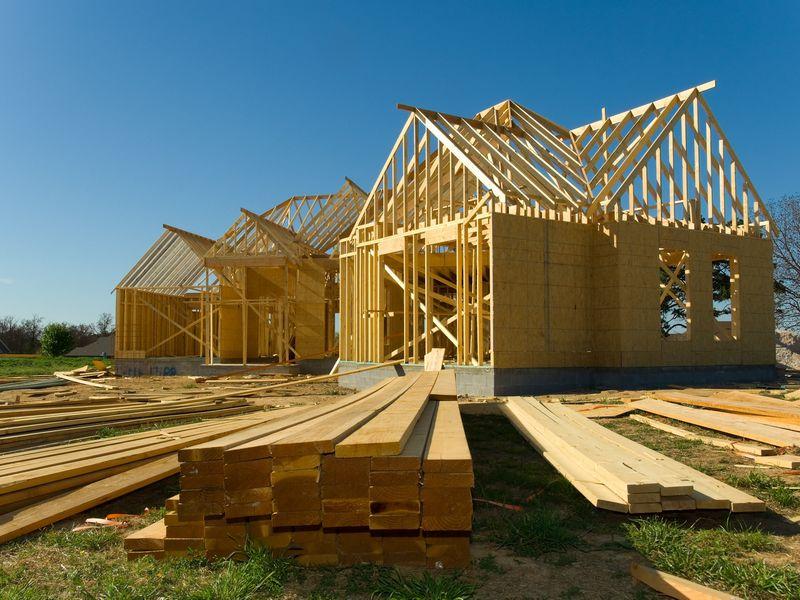 Construction de maison en ossature bois par Tremblay Scop