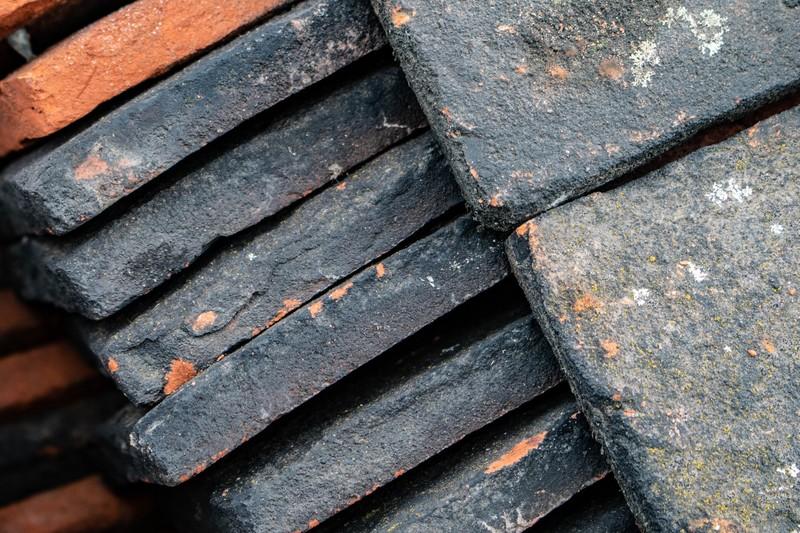 démontage toiture tuiles réemploi matériaux