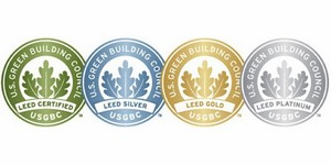 label leed construction